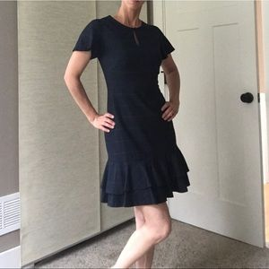 Adorable navy blue dress.